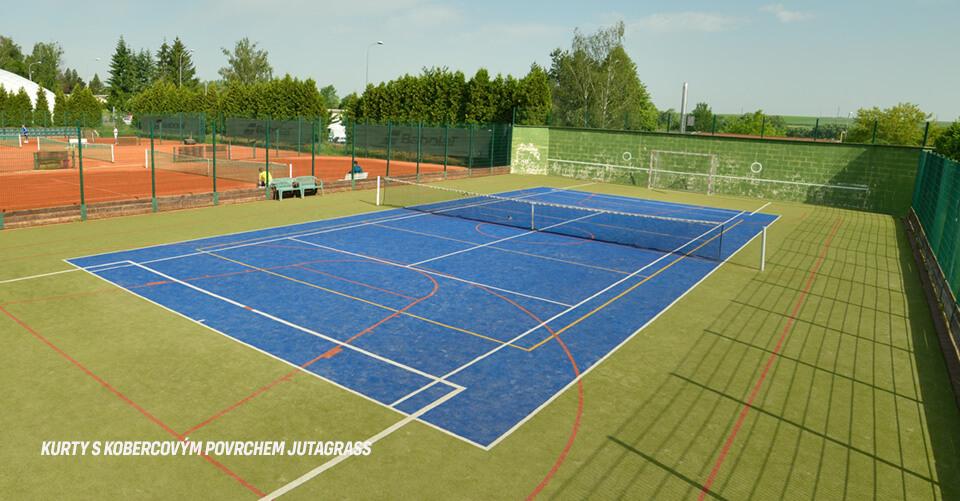 tenisové kurty Tábor